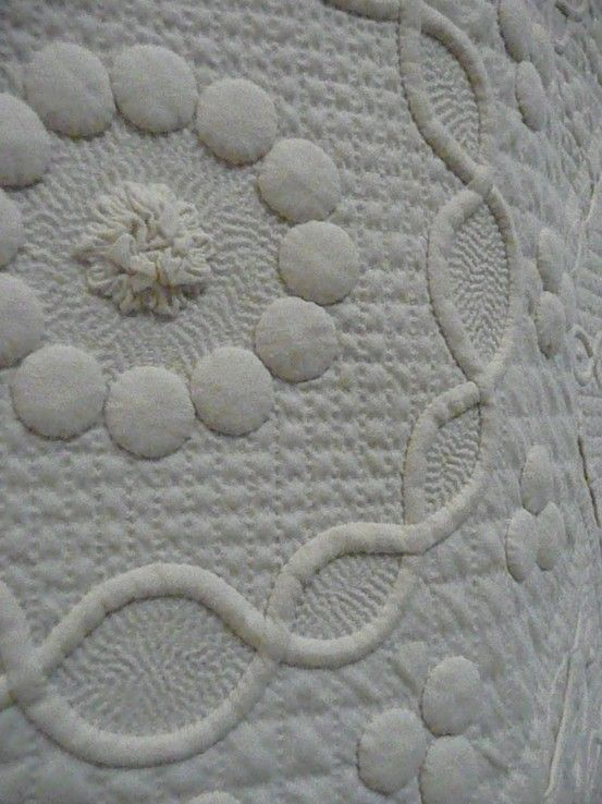 Trapunto Quilting Quilting Pinterest Quilting And Quilt