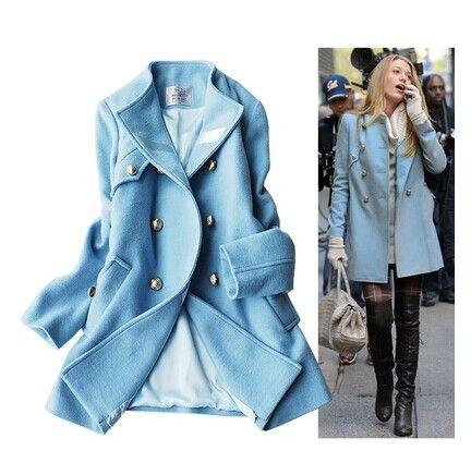 Girls Blue Coats - Coat Nj