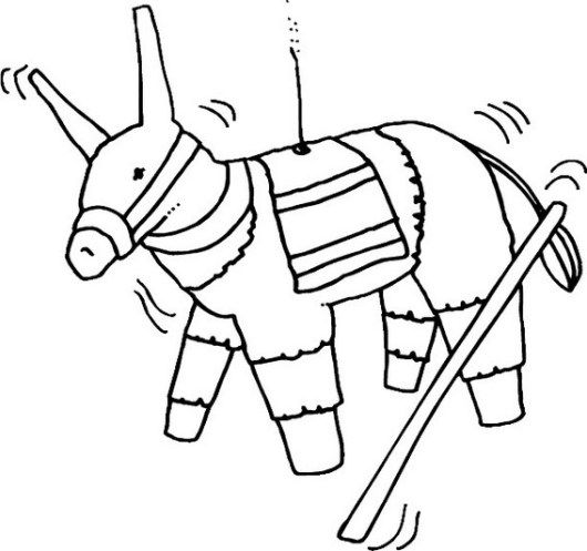 Horse Pinata Hudson Horstachio Coloring Sheet Super Coloring Pages Free Printable Coloring Coloring Pages