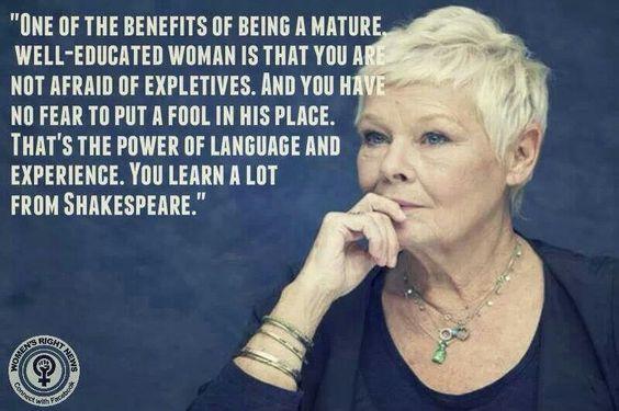 Dame Judi Dench on the power of Shakespearean women