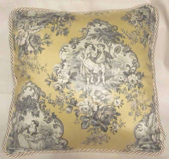 French Country Romantic Cottage Pillow by TsEclecticTreasures, $42.99