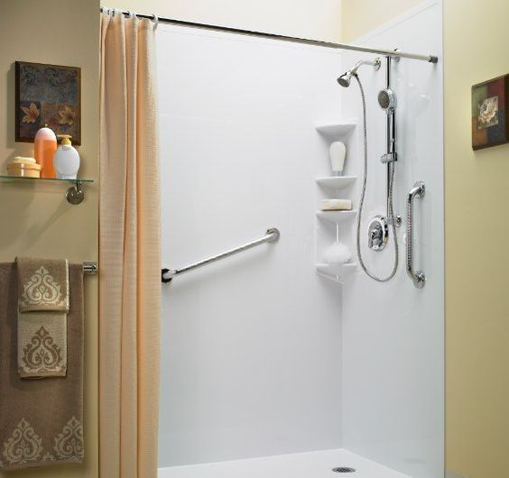 roll in showers bath fitters and bath on pinterest