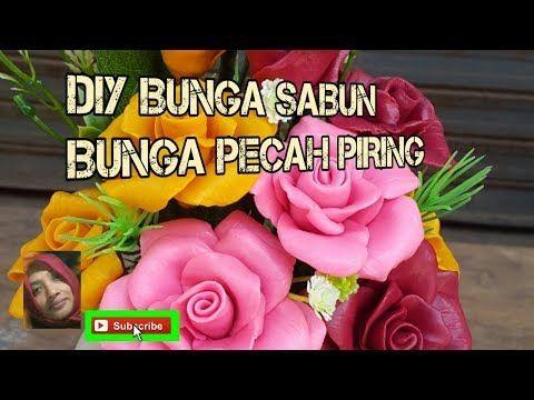 Cara Membuat Bunga Sabun Kaca Piring Pecah Piring Kerajinan Tangan Bunga Sabun Youtube Sabun Bunga Piring