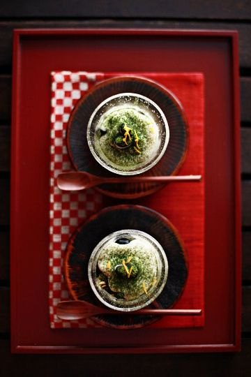 Japanese food お正月の名残 : 一日一膳