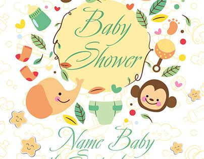 Check out new work Baby Shower FREE PSD Flyer Template – Baby Shower Flyer Template Free