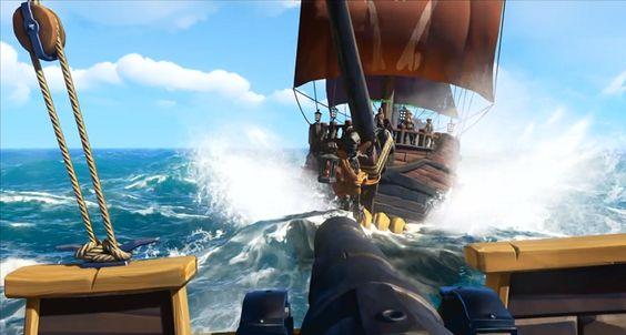 Sea of Thieves - batalha