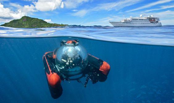 Crystal Esprit yacht cruise, the Seychelles