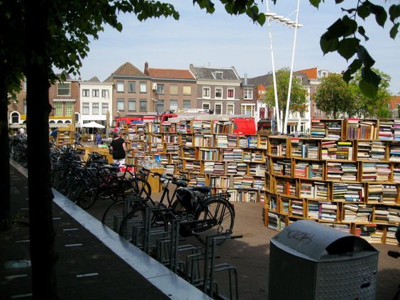Una librería increíble en Leiden, Holanda .