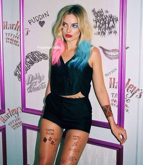 Margot Robbie Harley Quinn Suicide Squad 2016 New Pic