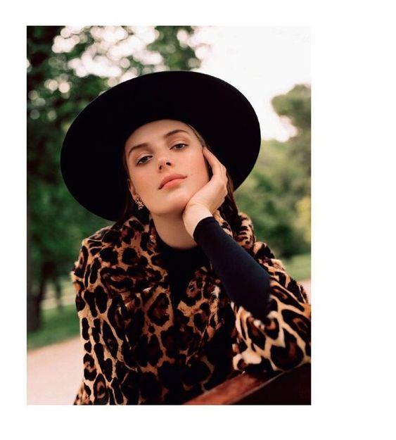 Animal Print Coats: Höst 2019 Fashion Spots Purr i Vogue Spain - Anne of Carversville
