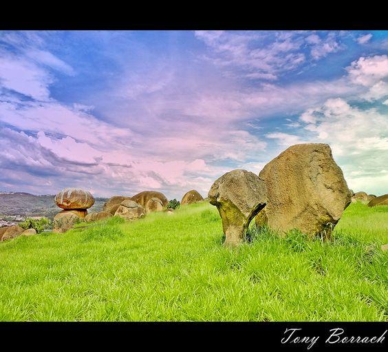 Pedras sobre pedras