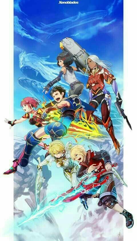 Xenoblade Series Xenoblade Chronicles Xenoblade