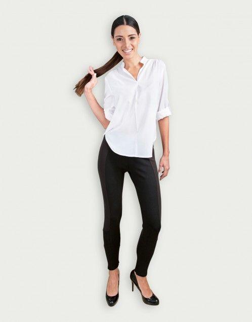 blusa blanca Anabella