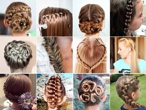 Super Best Hairstyles Videos And Braids On Pinterest Hairstyles For Women Draintrainus
