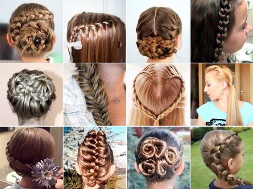 Stupendous Best Hairstyles Videos And Braids On Pinterest Short Hairstyles Gunalazisus