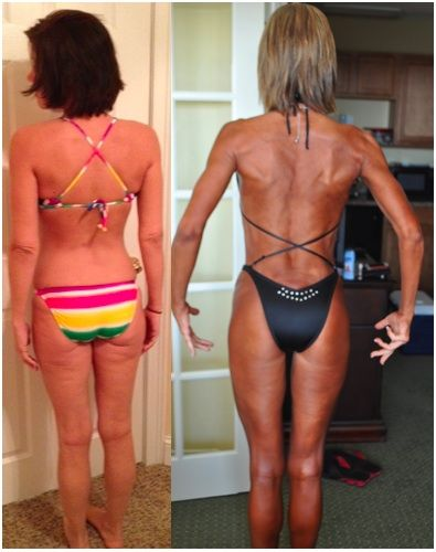 Proof that lifting and squats KILL cellulite!!