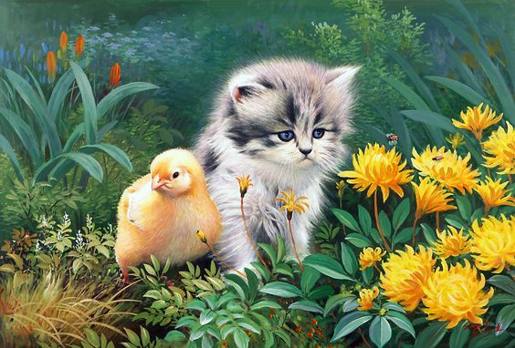 Animal world. Painting Korean artists. Discussion on LiveInternet - Russian Service Online diary
