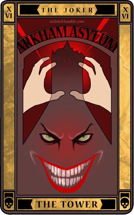 The Joker - The Tower Tarot Card