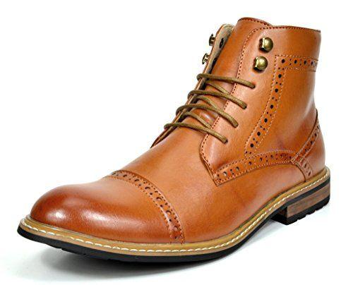 Amazon Com Bruno Marc Men S Bergen Leather Lined Oxfords Chelsea Dress Ankle Boots Oxford Derby Boots Ankle Boots Dress Leather Boots