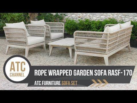 Rope Wrapped Outdoor Sofa Set Rasf 170 Atc Furniture 2019 Homedecor Outdoor Wickerfurniture Exteri Outdoor Sofa Sets Outdoor Sofa Furniture Sofa Set