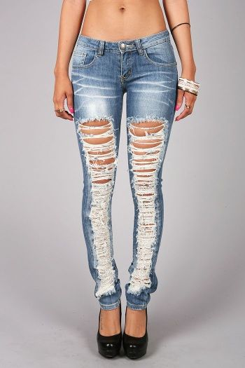 Ripped Jeans All The Way Down - Jon Jean