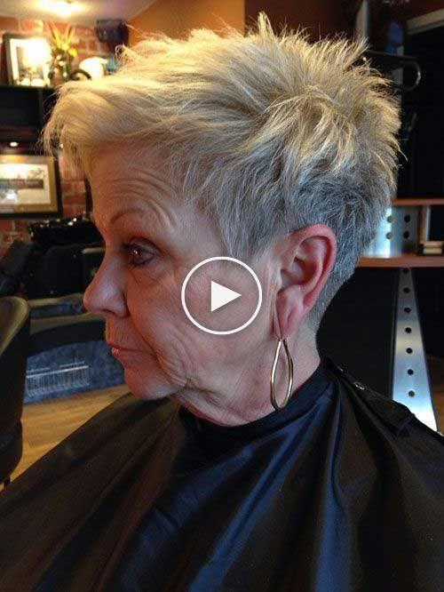 Frisuren kurz fur altere frauen