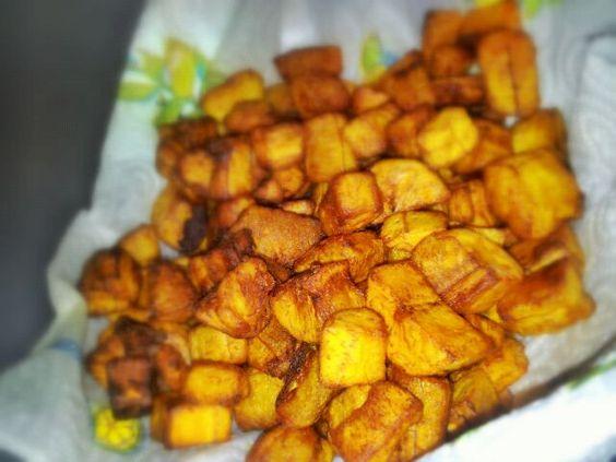 レシピとお料理がひらめくSnapDish - 4件のもぐもぐ - Fried Plantain by Robbish