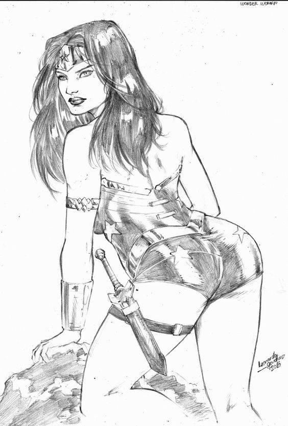 Wonder Woman by leonartgondim.deviantart.com on @DeviantArt