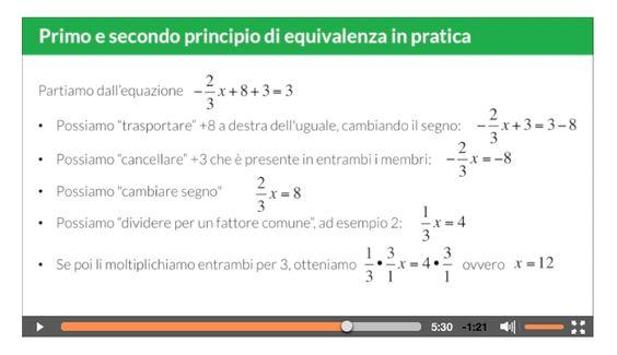 #matematica #algebra secondo @redooc: come risolvere le #equazioni lineari