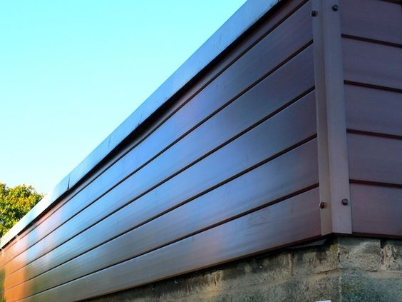 Recycled Plastic Cladding Exterior Cladding Panels Wall V Cladding 3metre