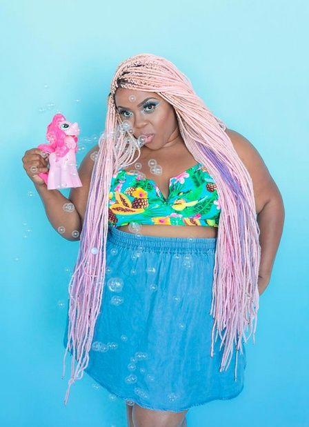 Wedden dat deze kleur 'My Little Pony Pink' heet?