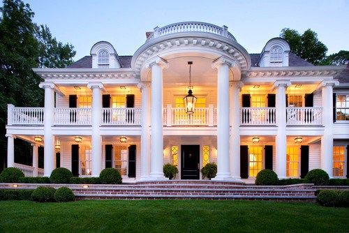 Stunning Front Door Ideas Add A Portico 20 Gorgeous Entryways The Well Appointed House Blog Living The Southern Mansions Southern Design Beautiful Homes