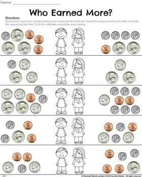 math worksheet : 1000 ideas about money worksheets on pinterest  counting money  : 1st Grade Math Worksheets Money