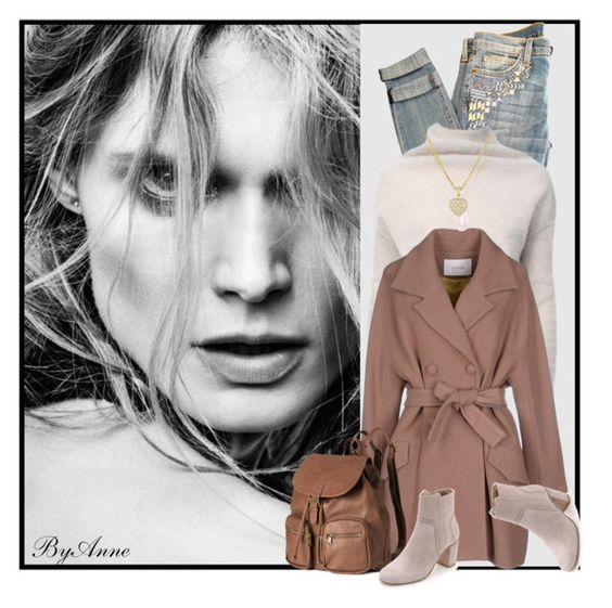 """""""Fierce"""" by anne-977 ❤ liked on Polyvore featuring Current/Elliott, Rick Owens, jucca, H&M, Zimmermann, White House Black Market, fallfashion and anne977mood"""