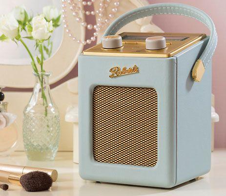 Roberts vintage-style Revival Mini DAB/FM radio is a John Lewis exclusive