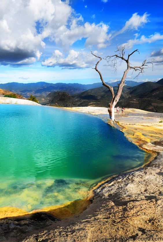 Hierve el Agua, Oaxaca, México