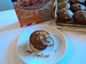 Wheat berry & lemon muffins