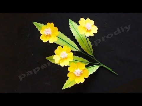 How To Make Origami Beautiful Paper Flowers Very Easy Paper