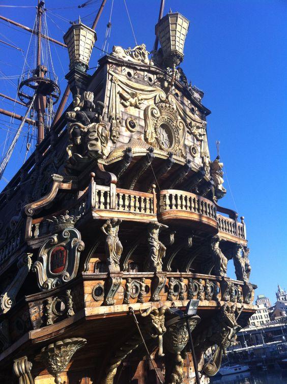 Piaratas del Caribe, Genova, Jonhy Deep, barco
