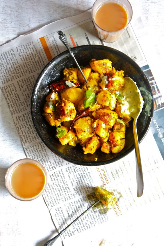 Aloo ke Gutke (Stir Fried Potato Pahadi Style) #Pahadi_Cuisine = of the North Indian Himalayan Regions, VERY YUM, Wholesome