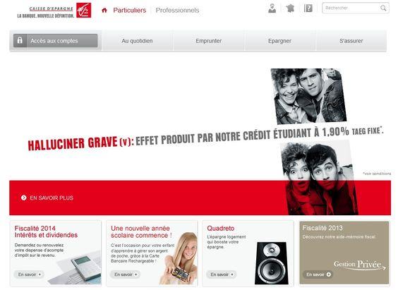 Caisse d'épargne en Ligne : Les services et consultations des comptes