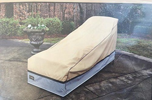 Seasons Sentry Cvp01628 Xl Chaise Lounge Cover Sand Best Value Buy On Amazon Outdoorfuritures Chaise Lounge Chaise Lounge