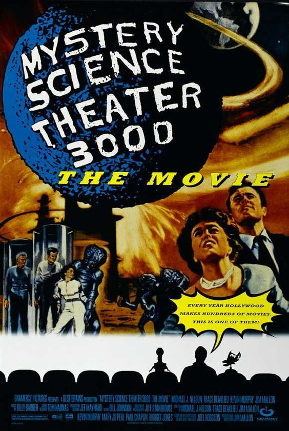 Mystery Science Theater 3000 27x40 Movie Poster (1996)