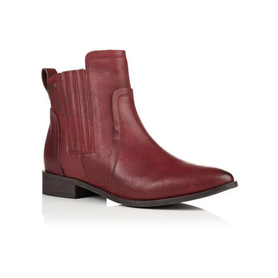 Superdry Margot Leather Chelsea Boots ($80) ❤ liked on Polyvore ...