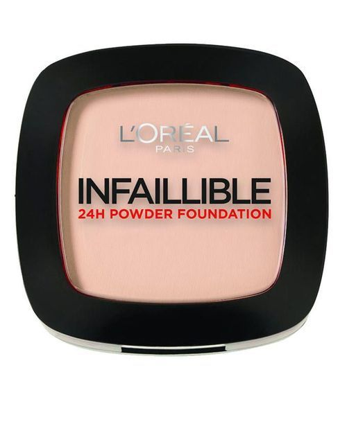 L Oreal Paris Infallible 24h Compact Powder Foundation 123 Warm Vanilla Loreal Paris Infallible Loreal Paris Makeup Loreal Paris