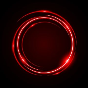 Abstract Circle Light Red Frame Vector Background Png And Vector Vector Background Circle Light Vintage Frames Vector