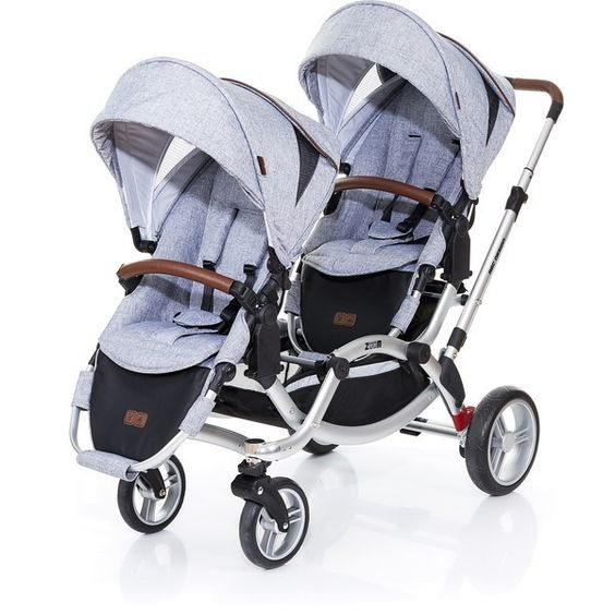 ABC Design Zoom Style Tandem Pram graphite grey - Collection 2016