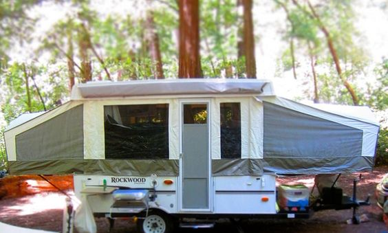 How to organize a tent trailer (pop-up trailer)