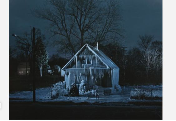 Gregory Holm (United States, 1971 - ). Ice House, 2010. The University of Michigan Museum of Art, Michigan. Museum Purchase, 2012. http://www.umma.umich.edu