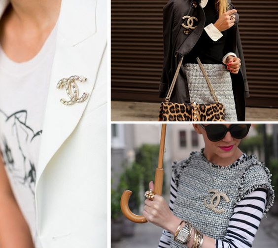 Marcus Design: {accessory du jour: the chanel brooch}